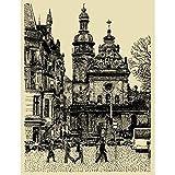 Pitaara Box Lviv Ukraine Europe Unframed Canvas Painting 18