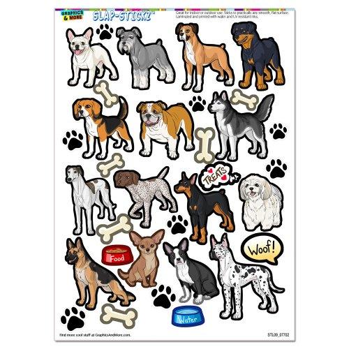 dog-breeds-paw-prints-beagle-german-shepherd-chihuahua-slap-stickztm-party-scrapbook-craft-car-windo