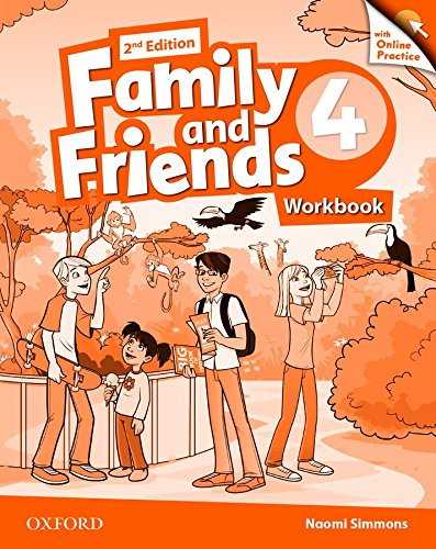 Family and friends. Workbook-Online practice. Per la Scuola elementare. Con espansione online: 4