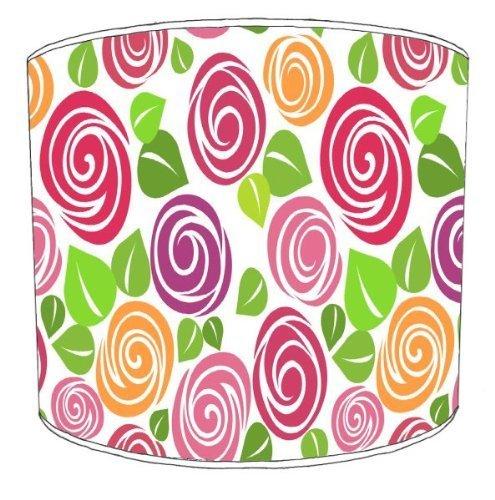 premier-abat-jour-plafond-texture-rose-abat-jour-305-cm
