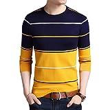 EYEBOGLER Men's Striped Regular fit T-Shirt