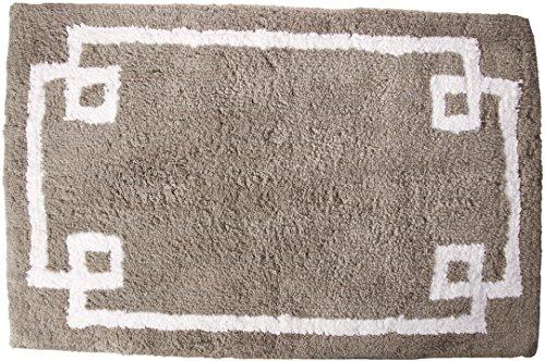 Evan Baumwolle getuftet Teppich grau 50,8x 76,2cm