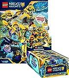 Unbekannt Lego Nexo Knights 2 - Trading Cards - 1 Display + 1 Starter - Deutsch