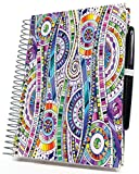 Tools4Wisdom Planner 2017 2018 Calendar July to June - 4-in-1: Daily Weekly Monthly Yearly Goals Organizer (8.5 x 11 / 200 Pages / Spiral / Academic Year / Hardcover Edition)