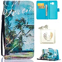 Coque Galaxy A3 2016 (sm-a310 F) Case Wallet Phone Stand Cover with Credit Card Slots Flip Protective Case For Samsung Galaxy A3 2016 (sm-a310 F) -photo Frame Keychain (YY)