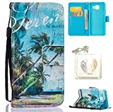 Coque Galaxy A3 2016 (sm-a310 F) Case Wallet Phone Stand Cover with Credit Card Slots Flip Protective Case For Samsung Galaxy A3 2016 (sm-a310 F) -photo Frame Keychain (YY) (1)