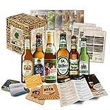 Kleines Biergeschenk mit besten deutschen Bieren - Geschenkidee für Freunde, Geschenkidee für Geschwister , tolle Geschenkidee