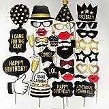 Leicht und einfach zu Tragen Kreative Geburtstagsparty Foto Requisiten Geburtstag