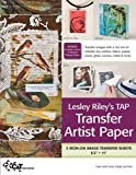 Lesley Riley's TAP Transfer Artist Paper 5 Sheet Pack