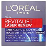L'Oréal Paris Revitalift Laser Erneuern Nachtcreme (50 ml) - Packung mit 6