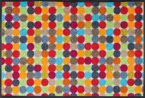 wash + dry 060826 Fußmatte Mikado Dots 50 x 75 cm