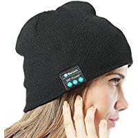MP power @ Negro Inalámbrica Auriculares deportivos Gorro Bluetooth con construido en Handsfree Micro Auricular Compatible con Iphone 6 Plus 6s Plus 6 6S 5 5S 4 4S 3G 3GS Samsung Galaxy S6 S6 Edge Edge+ S5 S4 S4 Active S4 Mini S3 S3 Mini S2 Note 4 Ipod Touch 3 4 5 HTC ONE X ONE S Z520E LG G2 G3 G4 Nexus 4 Nexus 6 P760 Nokia Lumia 920 820 Sony Z1 Z2 Z3 C4 C5 M4 M5 Huawei P8 Mate S Ipad Mini 1 2 3 4 Ipad Air Ipad Pro Tablet