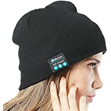 MP power   Musica cappello cuffia auricolare Bluetooth Beanie berretto con  costruito in stereo Wireless cuffia 13135c3ac2e7