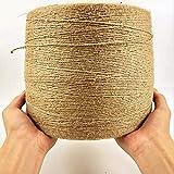 CCCDB Packschnur Bastelschnur Dekokordel Schnur Perfekt für Hanfseil Ornament gebündelt Seil DIY...