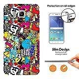 000589 - Stickerbomb Sticker Bomb Cool Funky Design Samsung