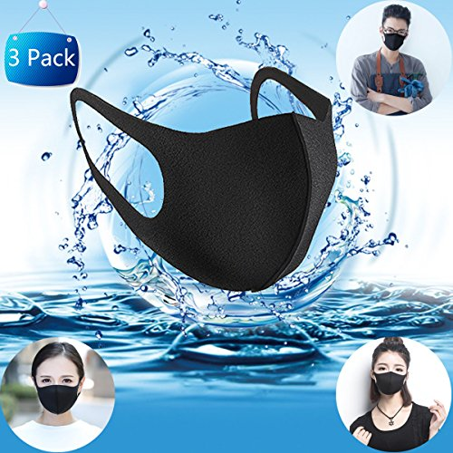 Máscara boca moda Unisexo Mascarilla anti polvo Mascarillas