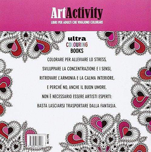 Libro Art Activity I Mandala Dellamore Colorare è La Meditazione
