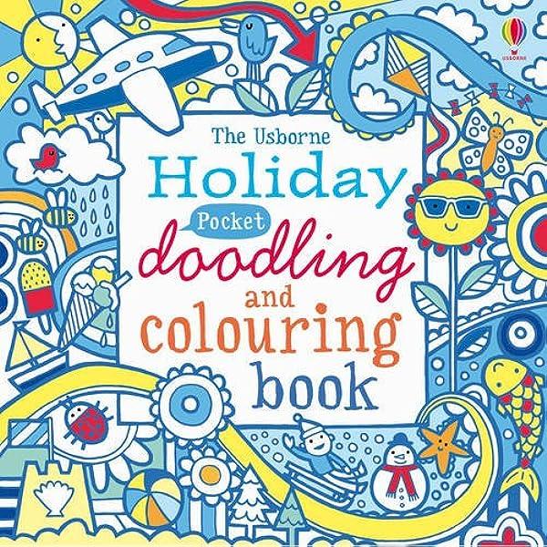 Pocket Doodling And Colouring Holiday Usborne Art Ideas Usborne Drawing Doodling And Colouring Amazon Co Uk 9781409530466 Books