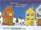 Freut euch, das Christkind kommt bald: Ein Adventskalender zum Vorlesen und Ausschneiden - Renate Schupp