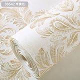 LIUXINDA-BZ Schön und praktisch zugleich Die blumentapete Schlafzimmer Wohnzimmer TV Hintergrund Wand Papier, Weiß