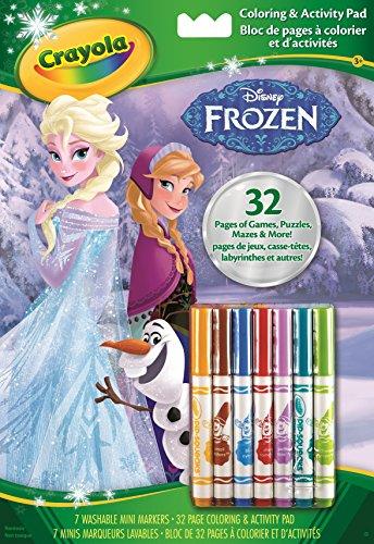 Crayola 5900 - album da colorare con pennarelli frozen