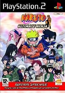 Naruto: Ultimate Ninja EDITION SPECIAL COLLECTOR + INCLUS 2 DVD VIDEO AVEC 9 PREMIER EPISODES DE LA SERIE ANIMEE