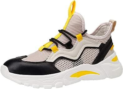 Sneaker Trail e Road Running Shoes Fitness Athletic Fashion Mesh Scarpe Casual Low-Top Scarpe da Studente Sneakers da Corsa Traspiranti da Uomo
