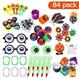 TOYMYTOY Halloween Party Spielzeug Halloween Spielzeug Sortiment Party Tasche Füllstoffe Halloween Preis Kinderparty Give Aways Party Tasche Füllstoffe 84Pcs