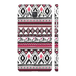 Enthopia Designer Hardshell Case Aztec 25 Back Cover for Samsung Galaxy A8