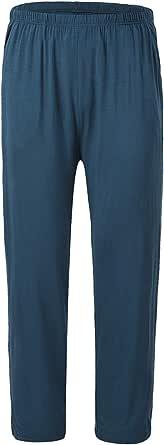 JINSHI Men's Pyjama Bottoms Nightwear Ultra Soft Modal Lounge Pants Trousers