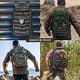 5.11 Tactical Rush12 Backpack Rucksack – 019 Schwarz - 6