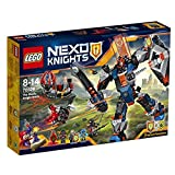 Best NUEVO libro de hechizos - LEGO Nexo Knights The Black Knight Mech Review