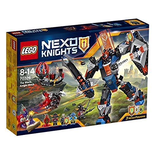 LEGO Nexo Knights The Black Knight Mech - Kits Figuras