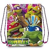 Nickelodeon Teenage Mutant Ninja Turtle TMNT Turnbeutel - Schuhbeutel -