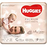 Huggies Premium Soft Pants, Medium size diaper pants, 22 Count