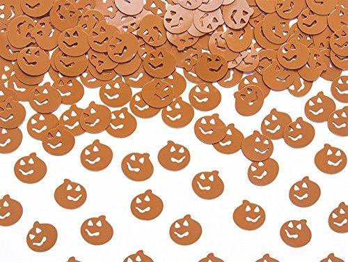 500 Stk Kürbisse Streuteile Tischschmuck Halloween orange Kürbis Deko Streudeko Tischdeko Herbst Party Dekokürbisse Halloweendeko Tischschmuck orange