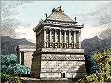 Poster 130 x 100 cm: Mausoleum at Halicarnassus, Illustration von Science Photo Library - Hochwertiger Kunstdruck, Kunstposter