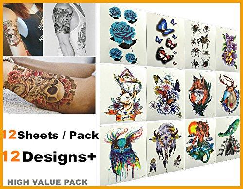 nouvelle-arrivee-love-nest-12-feuilles-pack-fashion-designs-meilleur-tatouage-temporaire-tatouages-b