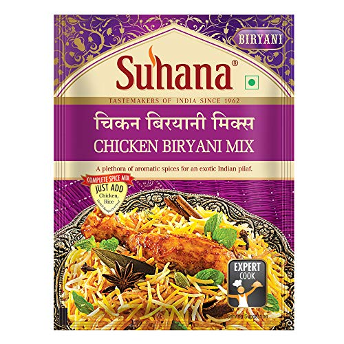 1. Suhana ready-to-cook Chicken Biryani Spice Mix masala