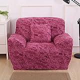 SSDLRSF Universal-Größe Sofabezug Stretch-Sitzbezüge Couch-Abdeckung Sofa Sofa Funiture Warp Slipcovers Abdeckung Sofa Handtuch Hochzeit (90-300cm), K014,1 Sitzer 90-140cm