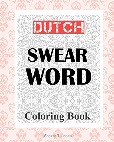Dutch Swear Word Coloring Book