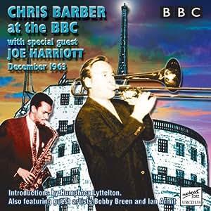 Chris Barber with Joe Harriott at the BBC, December 1963