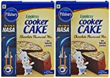 #10: Pillsbury Eggless Cooker Cake Mix, Chocolate, 159g (Pack of 2)