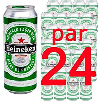 Pack x24 Heineken 50cl boite