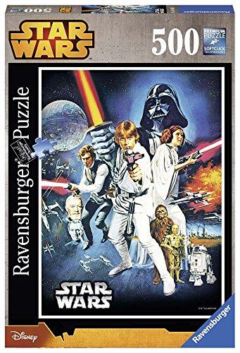 STAR WARS- Krieg Der Sterne Puzzles 500 Pieces, 25.4 x 16.5 x 6.3 (Ravensburger 14662)