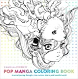 Pop Manga Coloring Book - A Surreal Journey Through a Cute, Curious, Bizarre, and Beautiful World