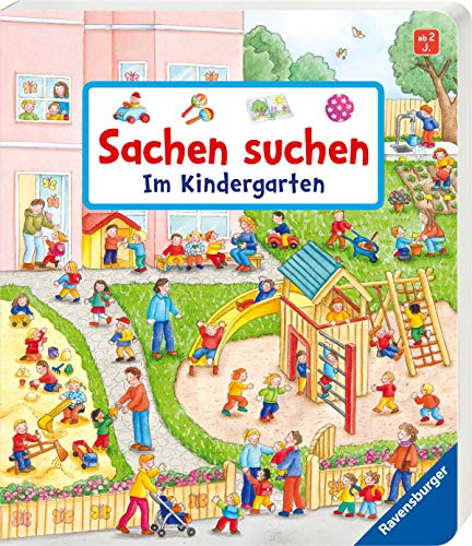 Sachen suchen Kindergarten