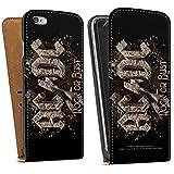 Apple iPhone 6 Tasche Schutz Hülle Walletcase Bookstyle ACDC Merchandise Fanartikel Rock or Bust