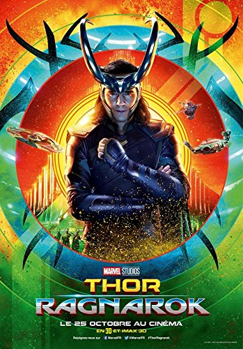 Import Thor Ragnarok – Loki – French Movie Wall Póster Print – 30 cm x 43 cm