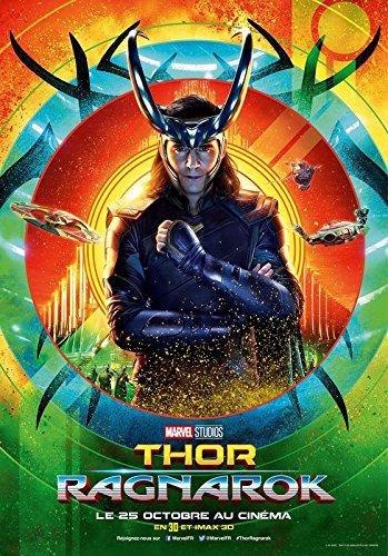 Import Thor Ragnarok–Loki–French Movie Wall Póster Print–30cm x 43cm